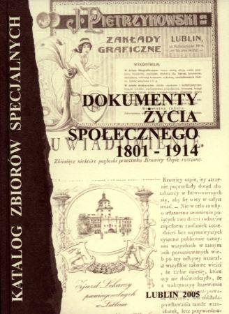 Dokumenty Życia Społecznego 1801-1914