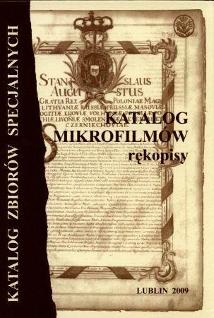 Katalog mikrofilmów - rękopisy