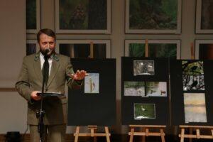 Protokół Jury odczytał Krzysztof Wojciechowski (Zespół Lubelskich Parków Krajobrazowych)