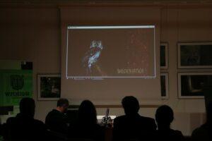 Podczas imprezy odbyła się projekcja filmów o sowach fotografowanych przez Artura Tabora