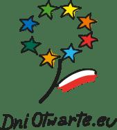 Logo projektu Dni Otwarte UE