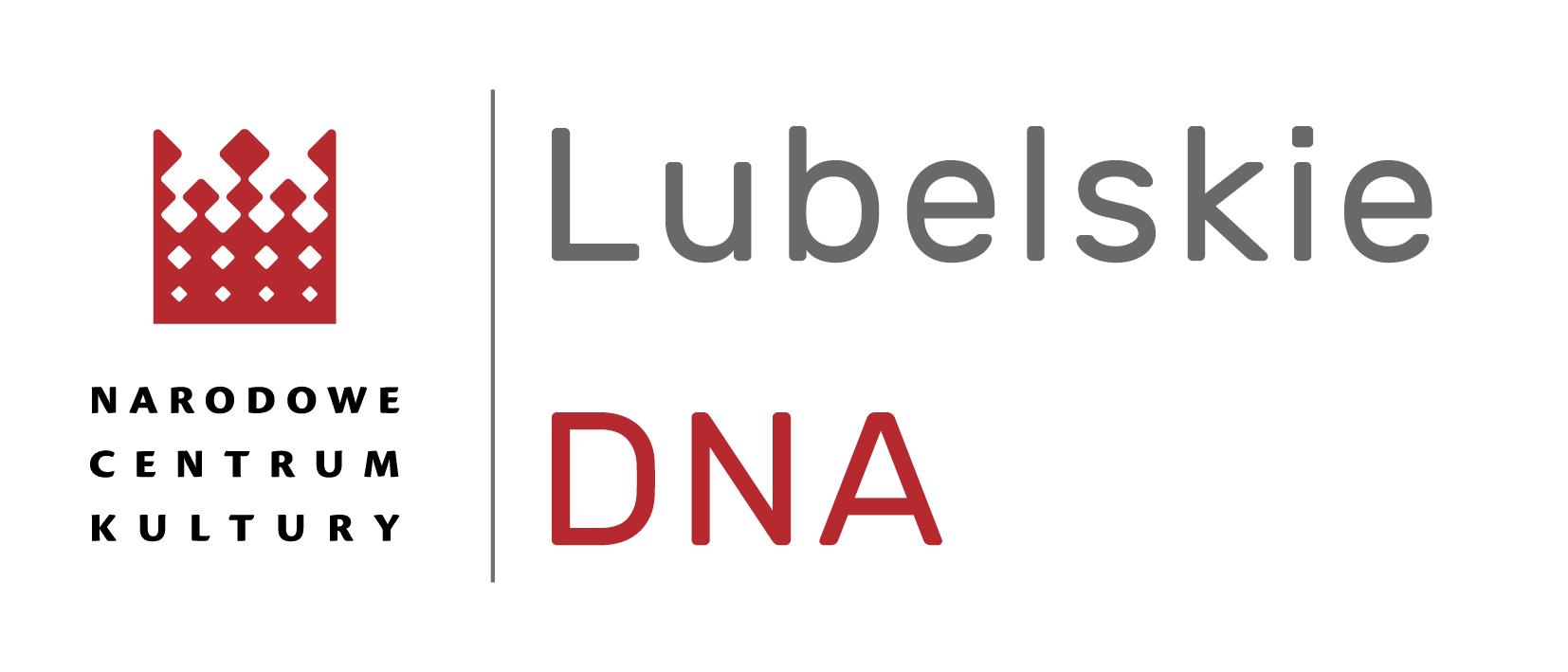Logo projektu Lubelskie DNA