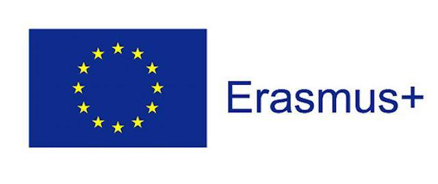 Logo projektu Erazmus Plus