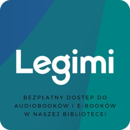 Legimi logo bezpłatne e-booki i audiobooki