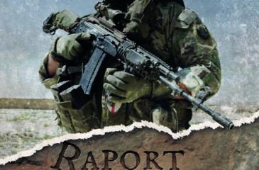 "Okładka książki ""Raport Borsuka"""