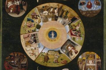 Hieronim Bosch, Siedem grzechów głównych i cztery rzeczy ostateczne