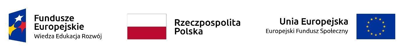 fundusze Europejskie RP Unia Europejska logo