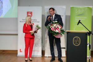 Gratulacje złożył także Wójt Gminy Stoczek Łukowski Marek Czub