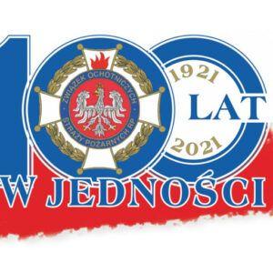 Logo 100-lecia OSP