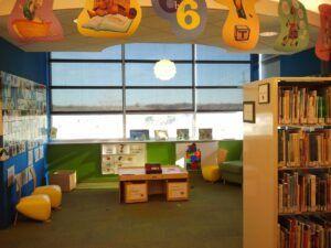 Biblioteka dla dzieci. Fot. pixaby